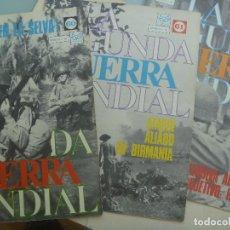 Militaria: LOTE DE 3 FASCICULOS DE LA IIª GUERRA MUNDIAL. Nº 60, 61 Y 62 .. DE CODEX , 1967. Lote 114849935