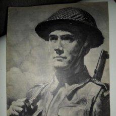 Militaria: REVISTA EL EJÉRCITO BRITÁNICO 1943, SEGUNDA GUERRA MUNDIAL. Lote 115000451
