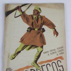 Militaria: REVISTA MARRUECOS, AÑO 1949, REPORTAJES DE FUERZAS REGULARES INDIGENAS, MEHAL-LA JALIFIANA, REGIMIEN. Lote 116077259