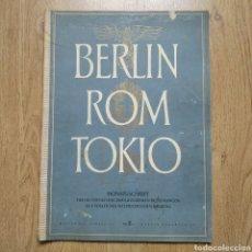 Militaria: REVISTA BERLIN ROM TOKIO Nº 11-12 1942 PROPAGANDA ALEMANA MAGAZINE GERMAN. Lote 116186907
