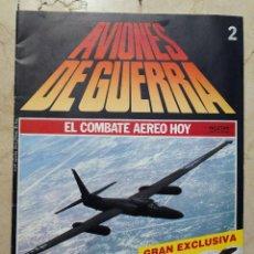 Militaria: AVIONES DE GUERRA - FASCICULO Nº 2 - PLANETA-AGOSTINI 1986.. Lote 116447775