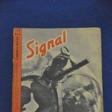 Militaria: REVISTA SIGNAL. Nº 9. MAYO DE 1942. EN FRANCÉS.. Lote 117754539