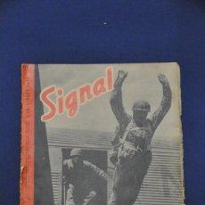 Militaria: REVISTA SIGNAL. Nº 13. JULIO DE 1941. EN ALEMÁN E ITALIANO.. Lote 117755143