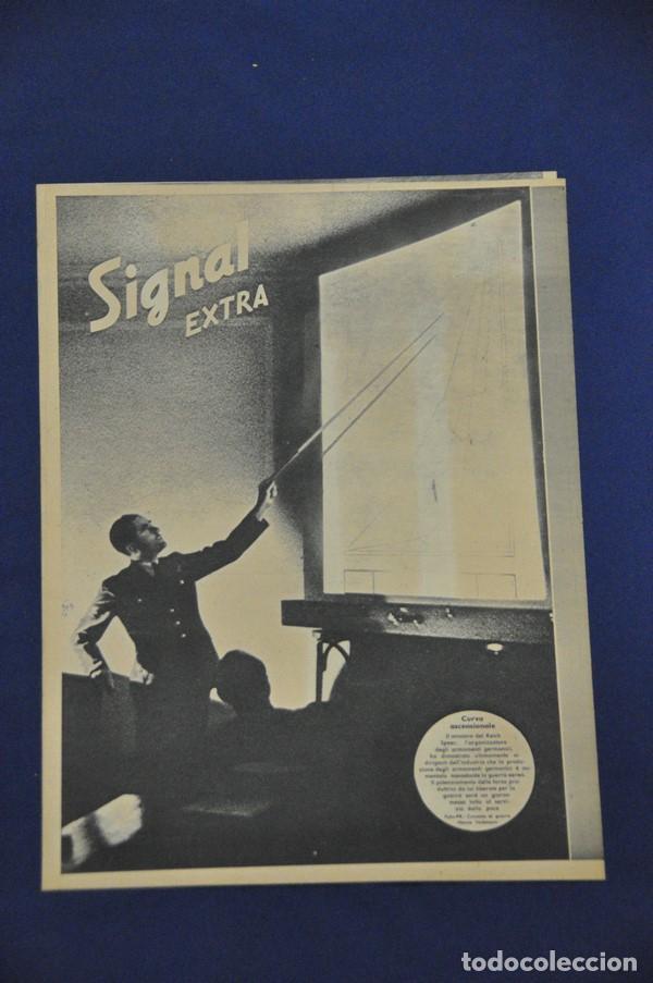 Militaria: Revista Signal Extra. 'Dopo a la Guerra'. En italiano. - Foto 2 - 117755751