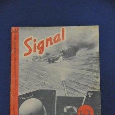 Militaria: REVISTA SIGNAL. Nº 16. AGOSTO 1941. EN ALEMÁN E ITALIANO.. Lote 117759471