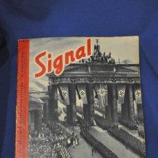 Military - Revista Signal. Nº 9. Agosto 1940. En alemán e italiano. - 117760671