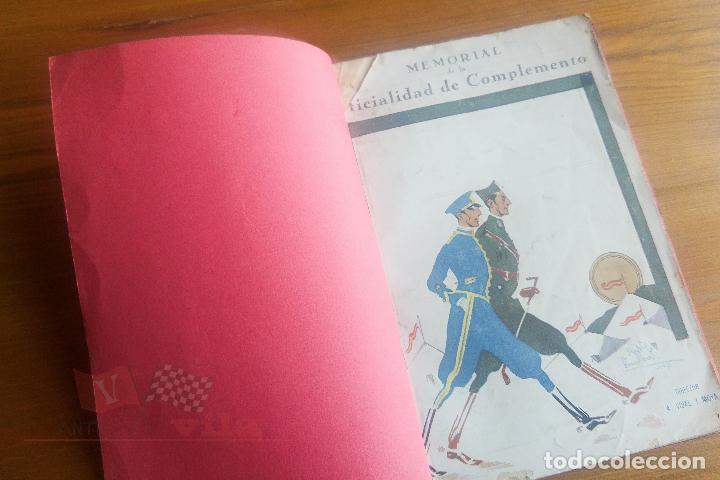 MEMORIAL DE LA OFICIALIDAD DE COMPLEMENTO - AÑO I - Nº 2 - 1927 (Militar - Revistas y Periódicos Militares)