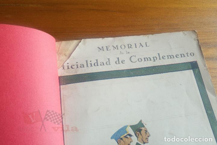 Militaria: Memorial de la Oficialidad de Complemento - Año I - Nº 2 - 1927 - Foto 2 - 117909099