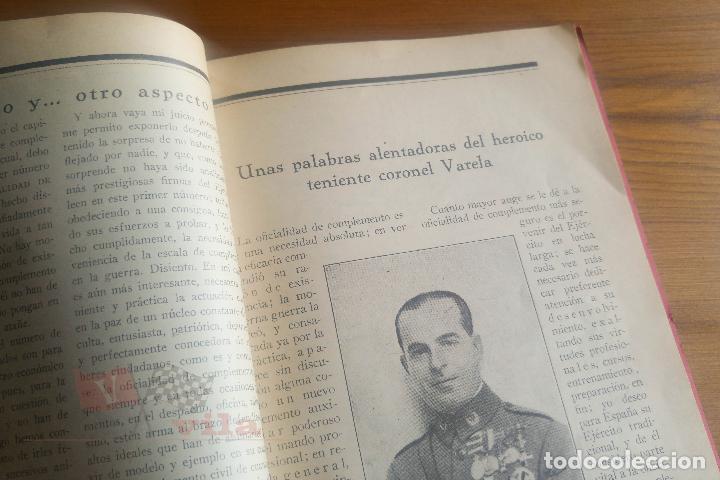 Militaria: Memorial de la Oficialidad de Complemento - Año I - Nº 2 - 1927 - Foto 8 - 117909099