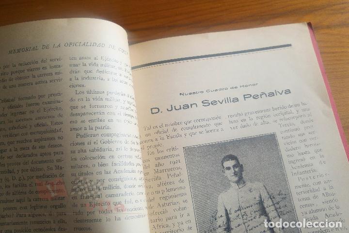 Militaria: Memorial de la Oficialidad de Complemento - Año I - Nº 2 - 1927 - Foto 9 - 117909099