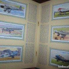 Militaria: AEROPLANOS MILITARES AVIONES AVIACION SOLDADOS ALBUM COMPLETO 51 CROMOS. Lote 118060491
