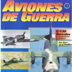 Militaria: AVIONES DE GUERRA PLANETA AGOSTINI. FASCÍCULO Nº 43. Lote 118618375