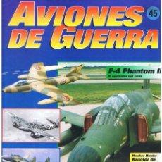 Militaria: AVIONES DE GUERRA PLANETA AGOSTINI. FASCÍCULO Nº 45. Lote 118618503