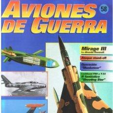 Militaria: AVIONES DE GUERRA PLANETA AGOSTINI. FASCÍCULO Nº 58. Lote 118619019