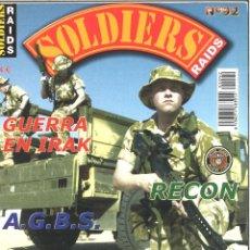 Militaria: SOLDIERS RAIDS. 92. MAYO 2003. Lote 120331307