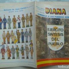 Militaria: CAPITANIA GENERAL DE SEVILLA : REVISTA DIANA , Nº 77 , 1981. CONTRAPORTADA LAMINA DE J.M. BUENO. Lote 120521823