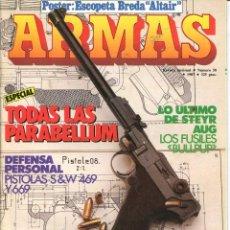 Militaria: REVISTA ARMAS Nº 58 - 1987. Lote 120829075