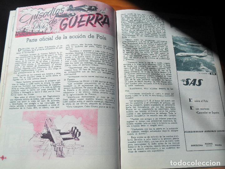 Militaria: FLAPS REVISTA JUVENIL DE AERONAUTICA Nº 7 DE 1961 - BREGUET XIX, MANFRED VON RIGHTHOFEN, BUCCANER... - Foto 2 - 121040147