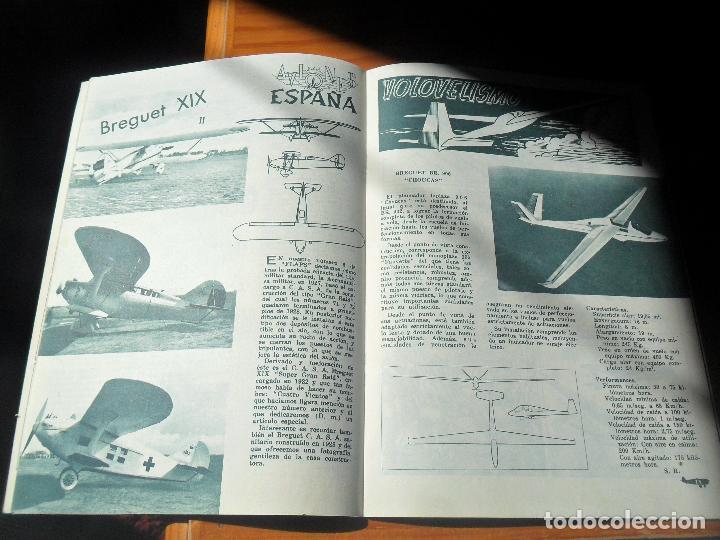 Militaria: FLAPS REVISTA JUVENIL DE AERONAUTICA Nº 7 DE 1961 - BREGUET XIX, MANFRED VON RIGHTHOFEN, BUCCANER... - Foto 3 - 121040147