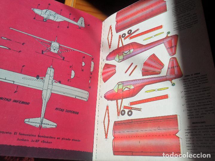 Militaria: FLAPS REVISTA JUVENIL DE AERONAUTICA Nº 7 DE 1961 - BREGUET XIX, MANFRED VON RIGHTHOFEN, BUCCANER... - Foto 6 - 121040147