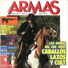 Militaria: REVISTA ARMAS Nº 62 - 1987. Lote 121414119