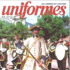 Militaria: UNIFORMES. 54. LES ARMÉES DE L'HISTOIRE. MARZO 1980. Lote 121460867