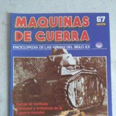 Militaria: MAQUINAS DE GUERRA/FASCICULO Nº67/PLANETA DE AGOSTINI.. Lote 122018995