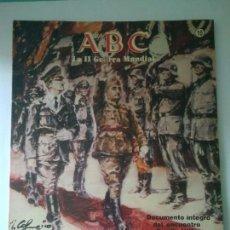 Militaria: FASCICULO LA SEGUNDA GUERRA MUNDIAL ABC NUMERO 10. Lote 122021452