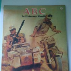 Militaria: FASCICULO LA SEGUNDA GUERRA MUNDIAL ABC NUMERO 15 LA AFRICA. Lote 122022634