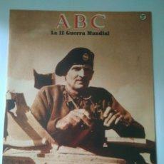 Militaria: FASCICULO LA SEGUNDA GUERRA MUNDIAL ABC NUMERO 37. Lote 122026859