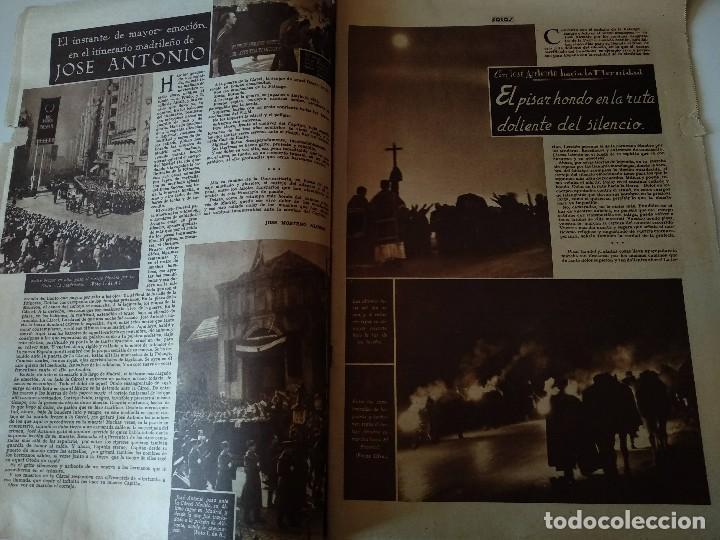 Militaria: SEMANARIO GRAFICO FALANGISTA Nº144 1939. JOSE ANTONIO PRIMO RIVERA HACIA LA ETERNIDAD - Foto 4 - 123137399