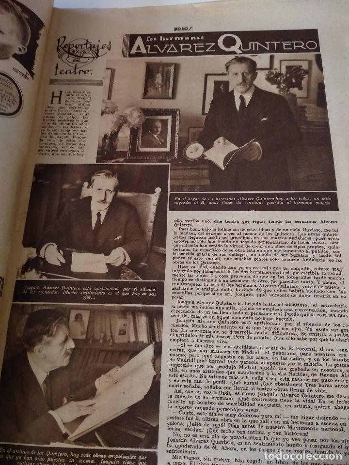 Militaria: SEMANARIO GRAFICO FALANGISTA Nº144 1939. JOSE ANTONIO PRIMO RIVERA HACIA LA ETERNIDAD - Foto 5 - 123137399