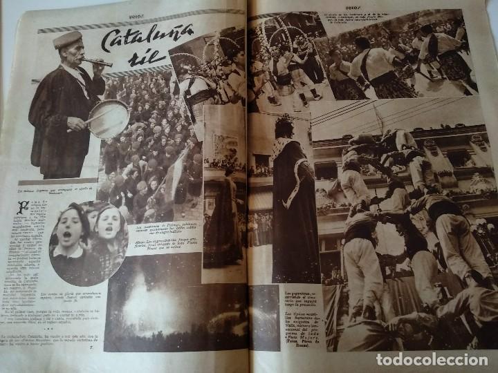 Militaria: SEMANARIO GRAFICO FALANGISTA Nº144 1939. JOSE ANTONIO PRIMO RIVERA HACIA LA ETERNIDAD - Foto 8 - 123137399