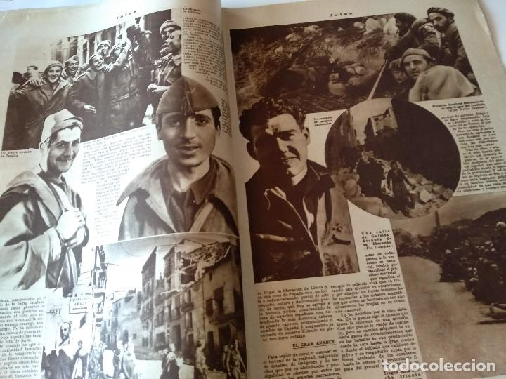 Militaria: FOTOS SEMANARIO GRAFICO FALANGISTA Nº100 1939. PAN DE ESPAÑA EN TARRAGONA, GUERRA CIVIL - Foto 3 - 123138183