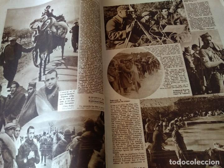 Militaria: FOTOS SEMANARIO GRAFICO FALANGISTA Nº100 1939. PAN DE ESPAÑA EN TARRAGONA, GUERRA CIVIL - Foto 4 - 123138183
