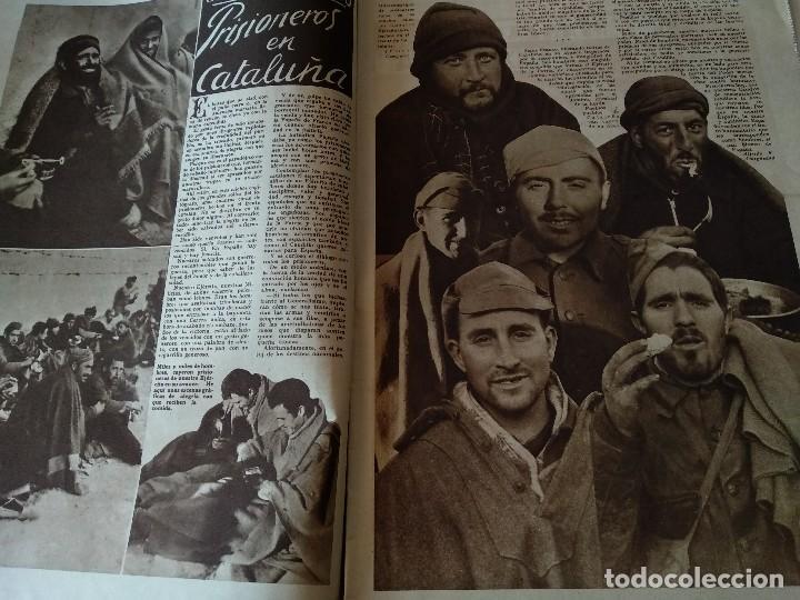 Militaria: FOTOS SEMANARIO GRAFICO FALANGISTA Nº100 1939. PAN DE ESPAÑA EN TARRAGONA, GUERRA CIVIL - Foto 5 - 123138183