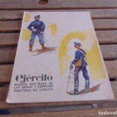 Militaria: REVISTA EJERCITO ILUSTRADA LAS ARMAS Y SERVICIOS MINISTERIO DEL EJERCITO N º 223 1958. Lote 123345035