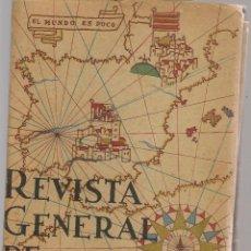 Militaria: REVISTA GENERAL DE MARINA. PATRONATO DEL ESTADO MAYOR DE LA ARMADA. Nº 119. DICBRE. 1940 (ST/BL104). Lote 124302491