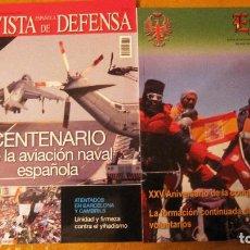 Militaria: REVISTAS:EJERCITO 916 Y DE LA DEFENSA 342.REGALO POSTER EUROFIGTER / COMANDO URBANO. Lote 124599563
