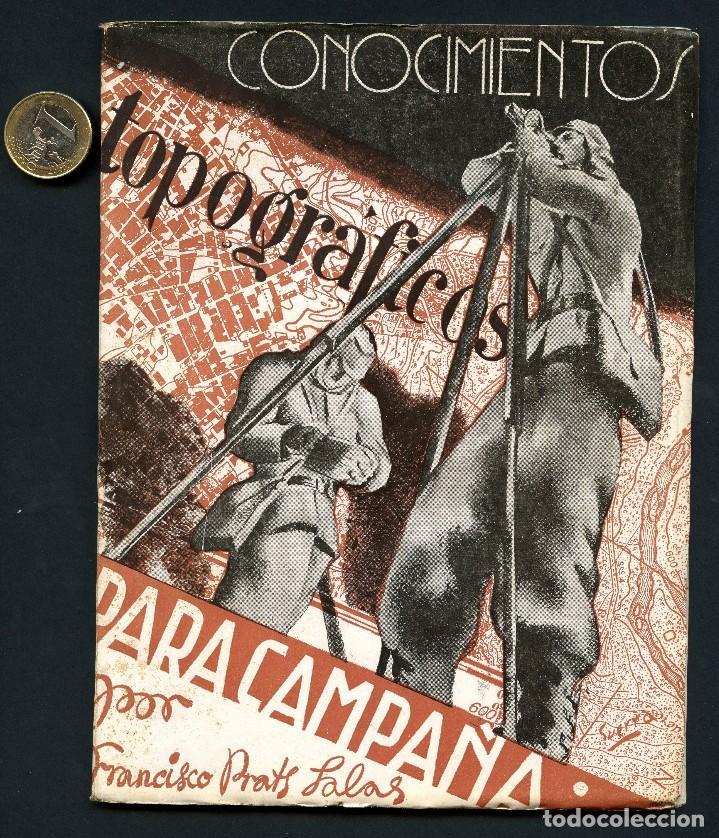 GUERRA CIVIL, REVISTA, CONOCIMIENTOS TOPOGRÁFICOS, MADRID, 1937 (Militar - Revistas y Periódicos Militares)
