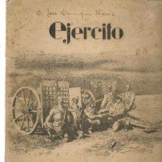 Militaria: EJERCITO. Nº 120. REVISTA ILUSTRADA DE LAS ARMAS Y SERVICIOS. ENERO 1950. (P/B78). Lote 126110483