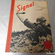 Militaria: SIGNAL 2º NÚMERO DE OCTUBRE DE 1941 EDICIÓN ESPAÑOLA. Lote 126895031