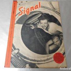 Militaria: SIGNAL 1ER NÚMERO DE OCTUBRE DE 1941 EDICIÓN ESPAÑOLA. Lote 126895515