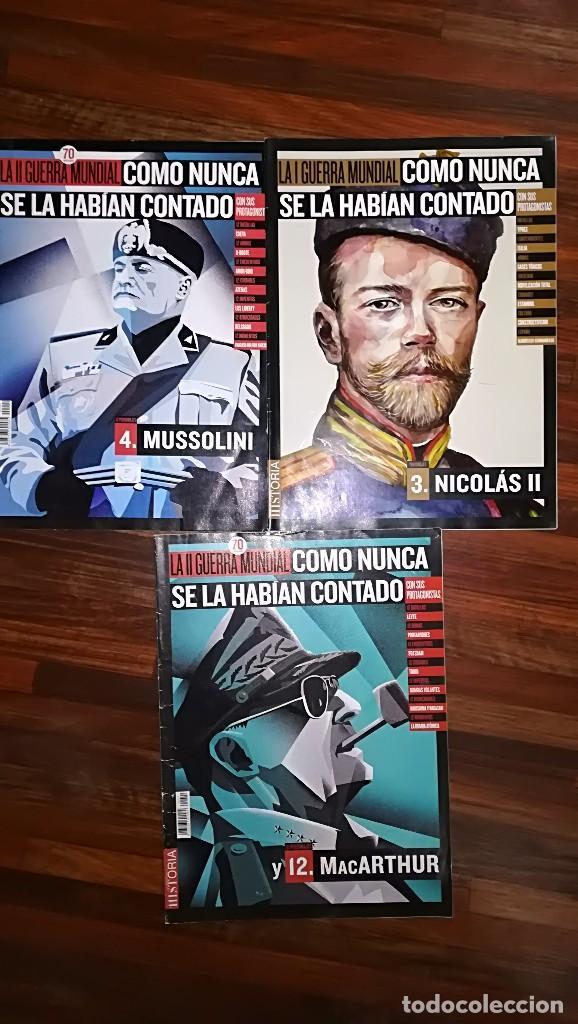 Militaria: LOTE DE REVISTAS I Y II GUERRA MUNDIAL - Foto 4 - 126986747
