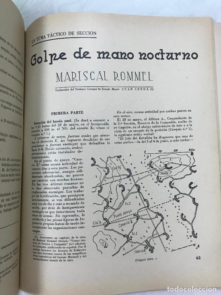 Militaria: Ejército. Revista ilustrada de las Armas y Servicios nº 46 NOVIEMBRE 1943 - Ministerio del Ejército - Foto 6 - 127207795