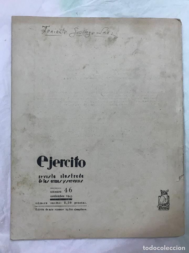 Militaria: Ejército. Revista ilustrada de las Armas y Servicios nº 46 NOVIEMBRE 1943 - Ministerio del Ejército - Foto 7 - 127207795