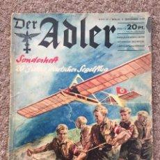 Militaria: REVISTA DER ADLER 1939 3 SEPT COMIENZO II GUERRA MUNDIAL. Lote 127790523