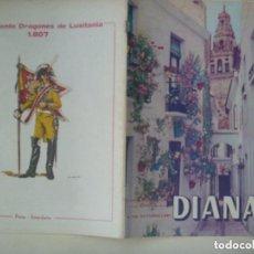 Militaria: CAPITANIA GENERAL DE SEVILLA : REVISTA DIANA , Nº 79 , 1981. CONTRAPORTADA DRAGONES DE LUSITANIA. Lote 128486607