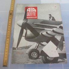 Militaria: AIR TRAINING CORPS GAZETTE. VOL IV NO.10 OCTOBER 1944. AVIACIÓN, AVIONES MILITAR. 2ª GUERRA MUNDIAL. Lote 128604003