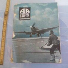 Militaria: AIR TRAINING CORPS GAZETTE. VOL IV NO.7 JULY 1944. AVIACIÓN, AVIONES MILITAR. 2ª GUERRA MUNDIAL. Lote 128604995